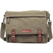 Kelly Moore Kate Camera/Tablet Bag with Shoulder & Messenger Strap (Khaki) Includes Removable Padded Basket