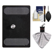 Vanguard Quick Shoe Release Plate QS-60 with Cleaning Accessory Kit for ABH-120, ABH-230, ABH-340 Ball Heads