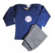 Loralin Design BNB6 Baseball Outfit - Blue 6-12 Months