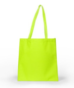 UltraClub 8801 Basic Tote Bag - Safety Green
