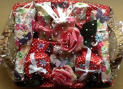 Deluxe Beauty Christmas roses and flowers Hamper - The Perfect Gift