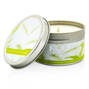 iKOU Eco-Luxury Aromacology Natural Wax Candle Tin - Happiness (Coconut & Lime) 230g240ml