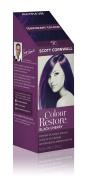 Colour Restore Black Cherry Multiple Use Mid Blonde to Dark Brown Hair Toner - Creates Vibrant Brunette Purple Tones - by Scott Cornwall