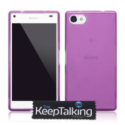 New Sony Xperia Z5 Compact Case Cover Silicone Gel Hybrid and Screen Protector Pack The Keep Talking Shop®