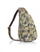 Healthy Back Bag Cotton & Polyester Camo Backpack Khaki Small