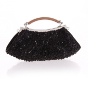 Anik Sunny Women Shinny Flower Bead Sequins Clutch Evening Bag Luxury Handbag Tote Wedding Party Bags