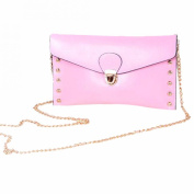 Women Shoulder Crossbody Bag Messenger Chain Bag Satchel Tote Rivet Handbag