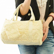 Fashion Women Muliticolor Winter Pillow Bag Fluff Handbag Shoulder Crossbody Bag