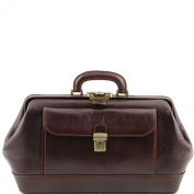 Tuscany Leather-Bernini doctor-Exclusive Leather Case-Dark Brown