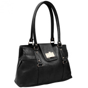 EyeCatch - Womens Smart Faux Leather Handbag Ladies Designer Bag