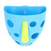 Trait-Tech Toddler Baby Kid Bath Toy Tidy Organiser Scoop Tub Toys Storage Bin Sucker Box