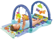 HerZii Ocean World Style Baby Musical Activity Soft Play Mat Play Gym Developmental Toy