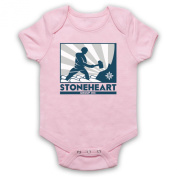 Inspired by Strain Stoneheart Group Man Hammer Logo Unofficial Baby Grow