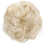 New Scrunchy Bun Up Do Hair Piece Hair Ponytail Extensions Curly 37385 Large Scrunchie-614H21