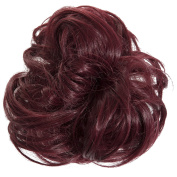 New Scrunchy Bun Up Do Hair Piece Hair Ponytail Extensions Curly 37385 Large Scrunchie-118