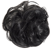 New Scrunchy Bun Up Do Hair Piece Hair Ponytail Extensions Curly 37385 Large Scrunchie-1
