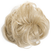 New Scrunchy Bun Up Do Hair Piece Hair Ponytail Extensions Curly 37385 Large Scrunchie-24/613