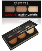 Exposed Ultimate CONTOUR PALETTE Kit Bronzing Contouring Highlighting Makeup