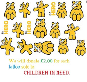Children in Need Temporay Tattoo