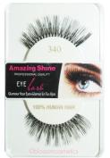 Amazing Shine Human Hair False Eyelashes - 340