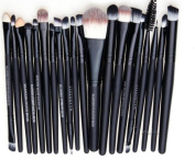 Hotportgift Pro Cosmetic Makeup 20pcs Brushes Set Powder Foundation Eye shadow Eyeliner Lip Brush Tool