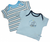 BabyVests Tops 2 Pk New baby last few Ex Mother and Baby Store