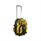 Transworld 738131-YEL Roll-Away Deluxe Rolling Backpack Yellow