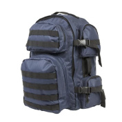 NcStar CBL2911 Tactical Back Pack - Blue-Black Trim