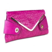 Mad Style 317843 Mad Style Owl Envelope Clutch Pink