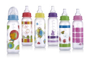 Bulk Buys 240ml Non-Drip - Nuby Baby Bottle - Case of 60
