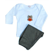 Loralin Design BOW6 Owl Outfit 6-12 Months