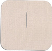 Uni-Patch 125C-LT 7.6cm . X 7.6cm . Tape Patches With Slit Low Tac Tan Tricot 100 Per Pkg