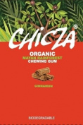 CINNAMON - CHICZA THE ORGANIC MAYAN RAINFOREST CHEWING GUM - 1 FULL BOX