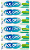 Poligrip Ultra Denture Fixative Cream 40g - Pack of 6