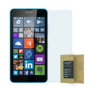doupi ® Premium 9H Tempered Glass HD Screen Protector for Microsoft Lumia 640 UltraThin protective glass Retina Crystal Clear armoured anti scratch protective glass film
