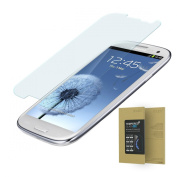 doupi ® Premium 9H Tempered Glass HD Screen Protector for for for for for for for for for for Samsung Galaxy S3 UltraThin protective glass Retina Crystal Clear armoured anti scratch protective glass film