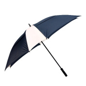 Peerless 2418ASV-Navy-White The Cyclone Umbrella Navy And White