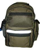 K-Cliffs Polyester Backpack - 19 x 33cm x 20cm . Olive Green