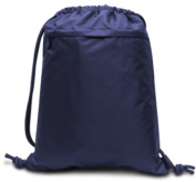 Performance Drawstring Backpack- Navy Case Of 48
