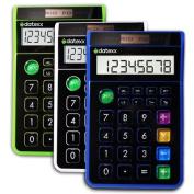 Teledex DD-612X3 3 Pieces - Hybrid Desk 8 Digit Calculator