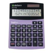 Teledex DD-7722 2-Line 12-Digit Desktop Calculator With 1000-Entry Backtrack Tax And Profit Calculations