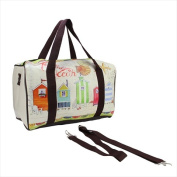 NorthLight 41cm . Vintage-Style Beach House Theme Travel Bag