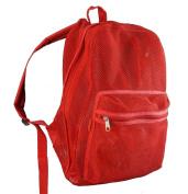 Harvest LM184 Red Mesh Backpack 18 x 36cm x 15cm .