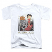 Boop-Hollywood - Short Sleeve Toddler Tee White - Medium 3T