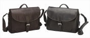 Preferred Nation 6112.Brn Leather Messenger - Brown