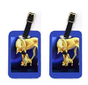 Carolines Treasures 7208BT Pair of 2 Great Dane Luggage Tags