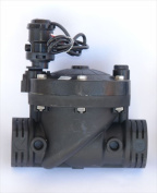 Galcon 3652 3.8cm . Sprinkler Valve with S1602 DC latching solenoid for battery operated controller