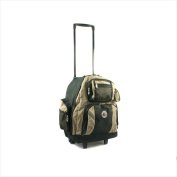Transworld 738131-KHA Roll-Away Deluxe Rolling Backpack Khaki
