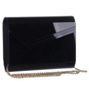 Mad Style 317822 Black Acrylic Slant Envelope