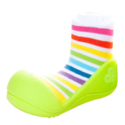 Attipas AR04-S Rainbow Shoes US 3.5 Green - Small